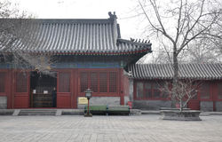 Temple in Beijing  china. This is a Temple in Beijing  China Stock Photo