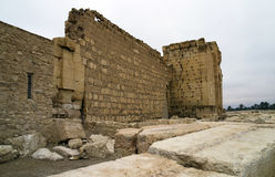 Temple of Bel at Palmyra, Syria Royalty Free Stock Photography