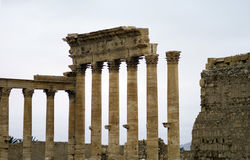 Temple of Bel at Palmyra, Syria Royalty Free Stock Image
