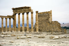Temple of Bel at Palmyra, Syria Stock Photo