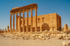 Temple of Bel Ruins Stock Photography