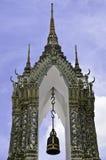 Temple belfry Stock Image