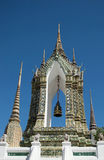 Temple belfry. At Wat Phra Chetuphon Royalty Free Stock Photo