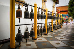 Temple Bell. S Decoration Buddha in Thailand Stock Photography