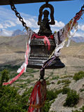 Temple bell in the Himalayas Royalty Free Stock Photos