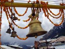 Temple bell. At Kedar Nath Royalty Free Stock Photo