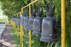 Temple Bell Line1 Stock Images
