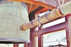 Temple bell named Royalty Free Stock Images