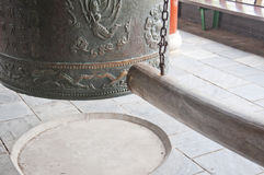 The temple bell Royalty Free Stock Photos