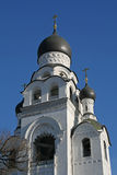 Temple bell at Rogozhskoe Resurrection Cemetery in Moscow Stock Photos