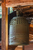 Temple bell at Ryoanji in Kyoto Stock Image