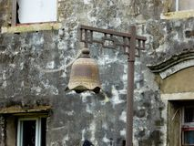 Temple bell shaped light Stock Photography