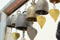 Temple bell Royalty Free Stock Photos