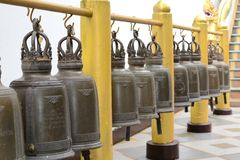 Temple Bells Royalty Free Stock Photography