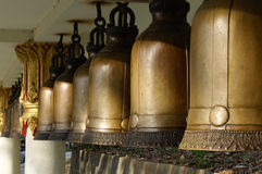 Temple bells Royalty Free Stock Photos