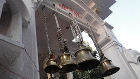 Temple bells india Indian Culture Religion Religious Worship Stock Photo