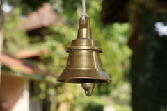 Temple bells, Kerala, South India Stock Image