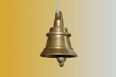 Temple bells, Kerala, South India Royalty Free Stock Images
