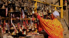 Temple bells Nepal Royalty Free Stock Photography