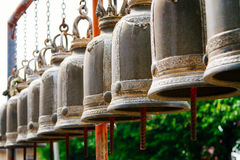 Temple Bells Thailand Royalty Free Stock Photo