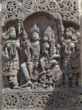 Temple of Belur, Karnataka, India Stock Image