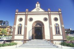 Temple Beth Israel Synagogue in Old Town San Diego California Stock Photo