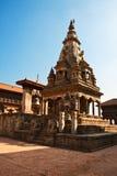 Temple on Bhaktapur Royalty Free Stock Photo