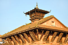 Temple at Bhaktapur Durbar Square Stock Image