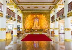 Temple birman, Singapour Photo stock