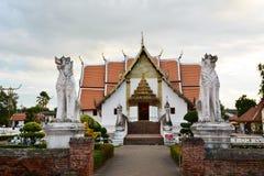 Temple blanc Photographie stock libre de droits