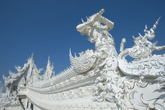 Temple blanc Chiang Rai Thaïlande Photographie stock
