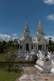 Temple blanc Chiang Rai, Thaïlande photo stock