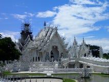 Temple blanc dans Chiang Rai Images libres de droits