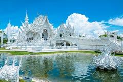 Temple blanc de Chiang Mai Image stock