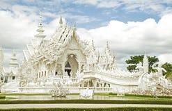 Temple blanc de la Thaïlande Image libre de droits