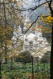 Temple blanc de roche dans Sichuan, porcelaine Photo libre de droits