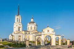Temple of the Blessed Virgin Assumption. Russia Royalty Free Stock Images