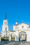 Temple of the Blessed Virgin Assumption. Russia Stock Images