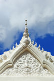 Temple with blue sky. Royalty Free Stock Photo
