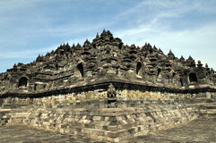 The temple of Borobudur Royalty Free Stock Images