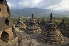 Temple Borobudur Royalty Free Stock Photos