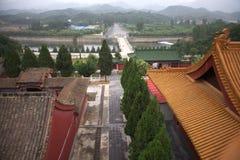 Temple Bouddha de ressort Photo libre de droits