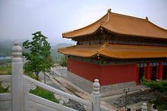 Temple Bouddha de ressort Images libres de droits