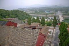 Temple Bouddha de ressort Photo stock