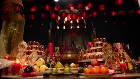 Temple bouddhiste à Jakarta photographie stock