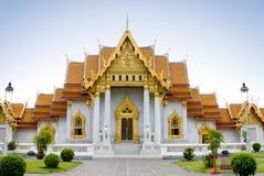 Temple bouddhiste élégant Photographie stock libre de droits