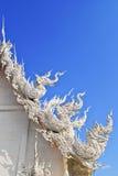 Temple bouddhiste au rongkhun de wat Images libres de droits