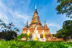 Temple bouddhiste Ayutthaya Image stock