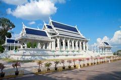 Temple bouddhiste blanc Photo libre de droits