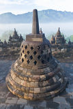 Temple bouddhiste Borobudur Photo libre de droits